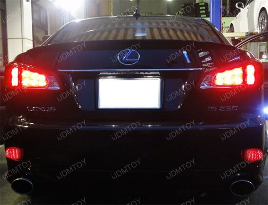 Lexus IS250 LED Bumper Reflectors 1