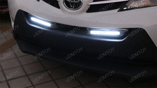 Toyota RAV4 LED Daytime Lights 12