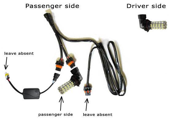 wiring diagram for running lights
