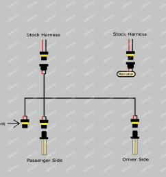 lexus rx330 rx350 9005 led drl bulb installation guide and diagram light schematic on daytime running lights drl headlights wiring [ 1566 x 1038 Pixel ]