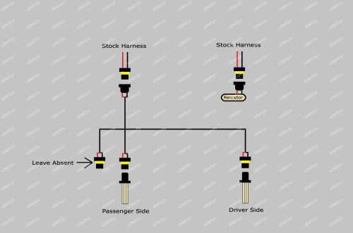 small resolution of lexus rx330 rx350 9005 led drl bulb installation guide and diagram light schematic on daytime running lights drl headlights wiring