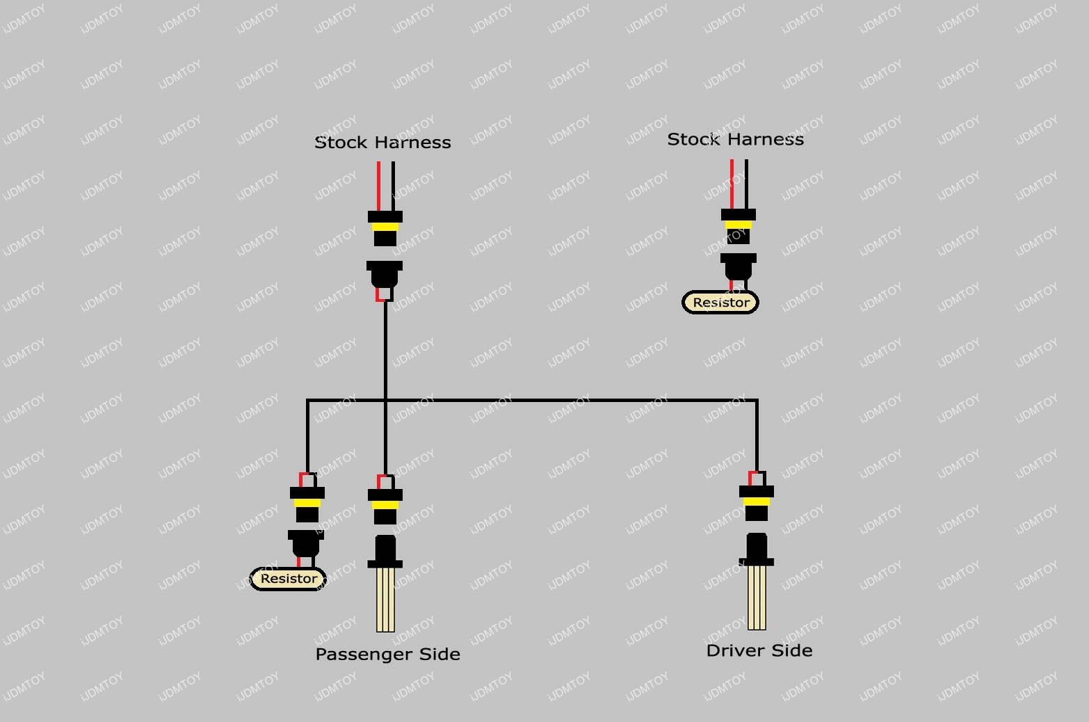 car fog lights wiring harness diagram