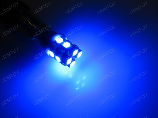 12-SMD T10 Wedge Light LED License Palte Bulbs