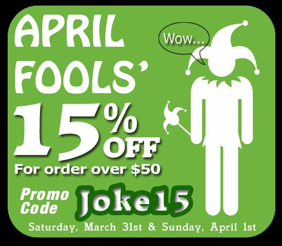 iJDMTOY April Fool LED Sales