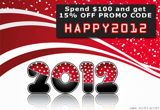 New Year sale 2012