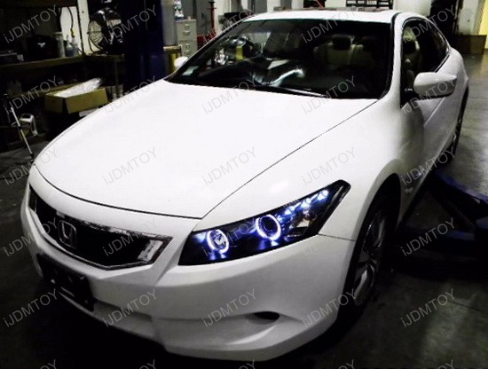 Led Accord Coupe Headlights 2012