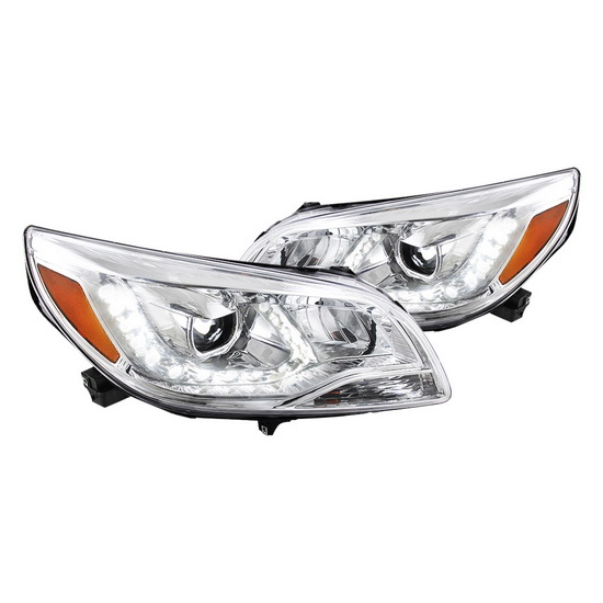 2011-up Chevy MALIBU Chrome Housing Projector Headlights