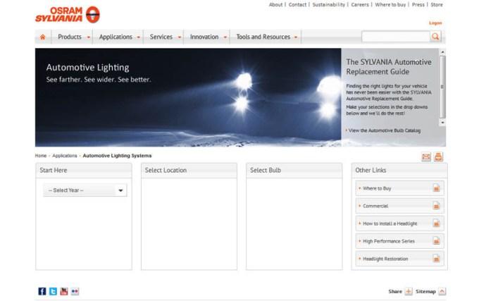 Sylvania Automotive Bulb Guide >> Sylvania Light Bulb Guide Adiklight Co
