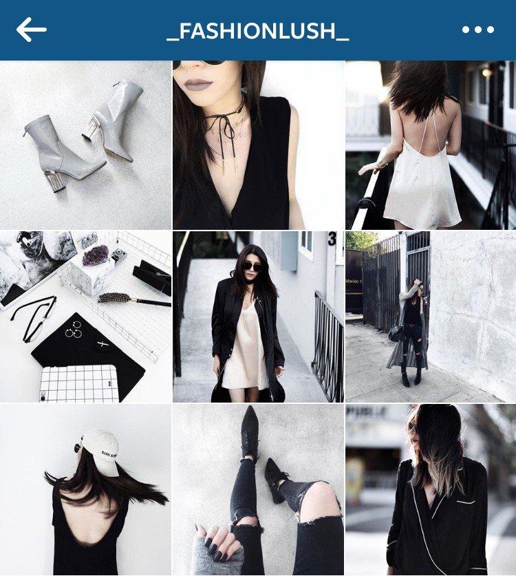 Pretty Instagram feed FashionLush