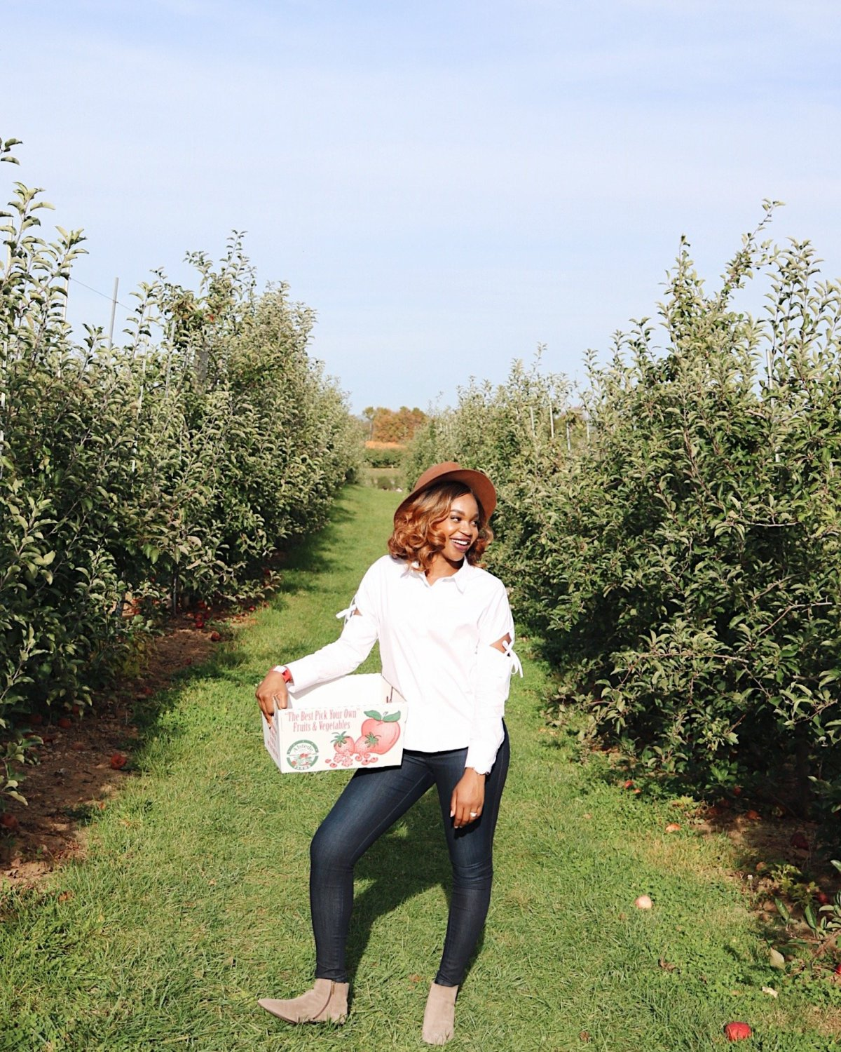 Apple Picking at Alstede Farms | Klassy Kinks