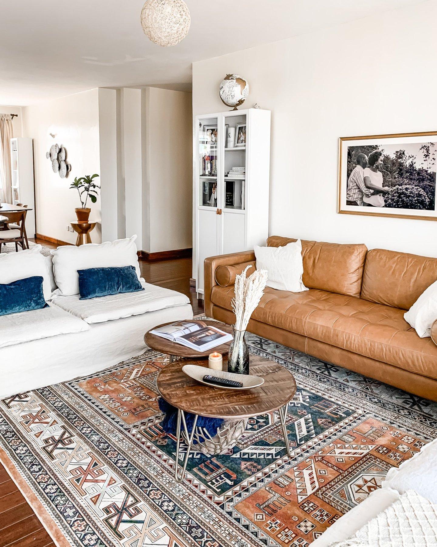 Nairobi Apartment Living Room Reveal - Ijeoma Kola