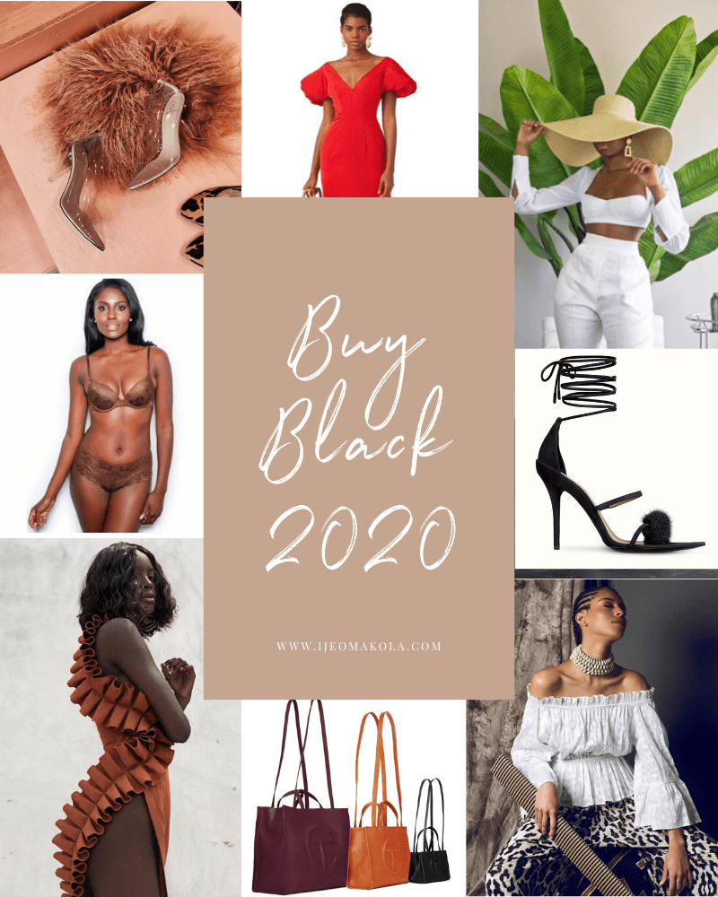 Buy Black 2020 collage