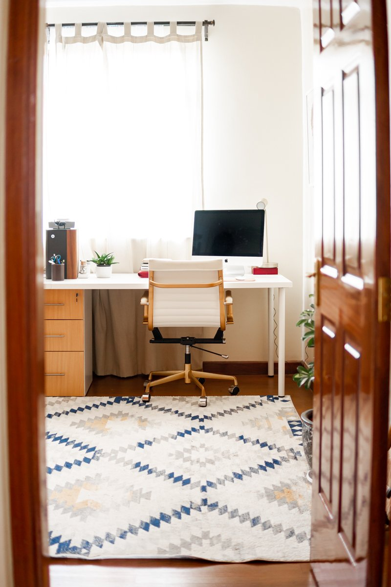 His & Hers Home Office + Guest Bedroom | Ijeoma Kola