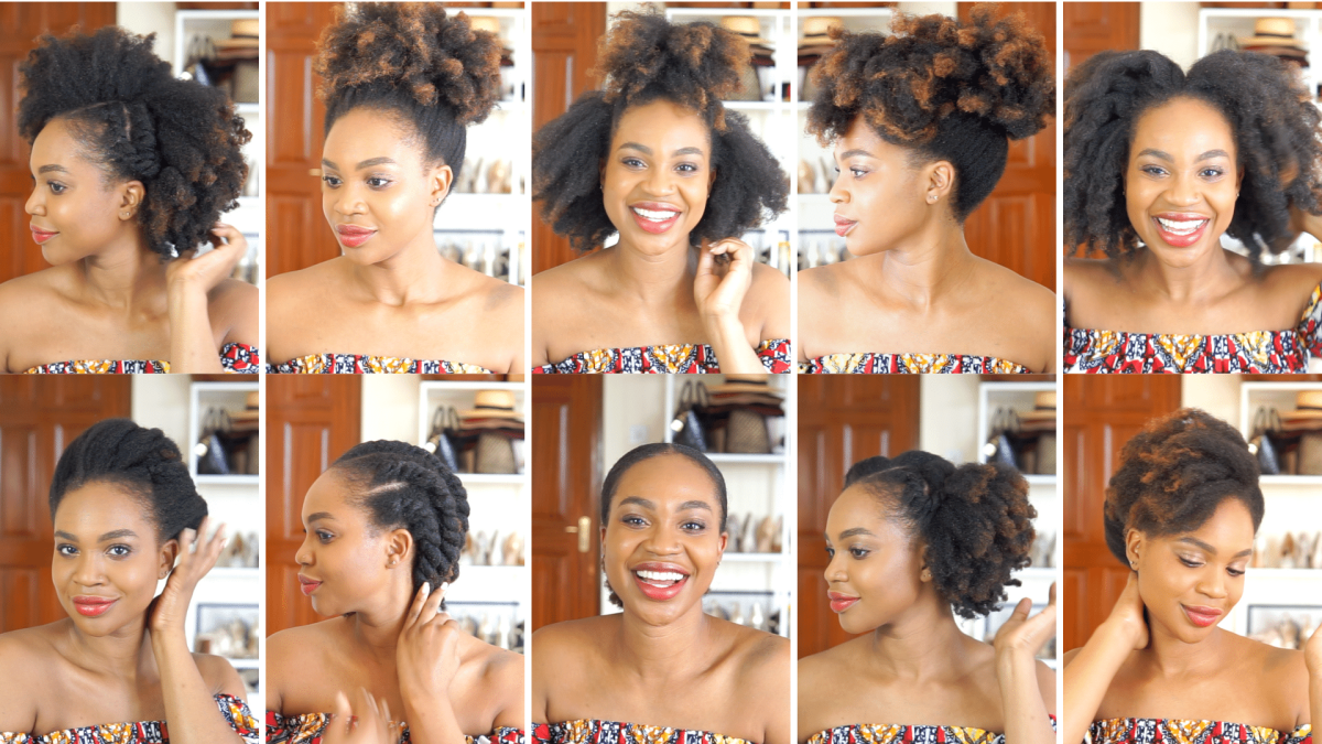 10 Easy Natural Hairstyles to Try at Home | Ijeoma Kola