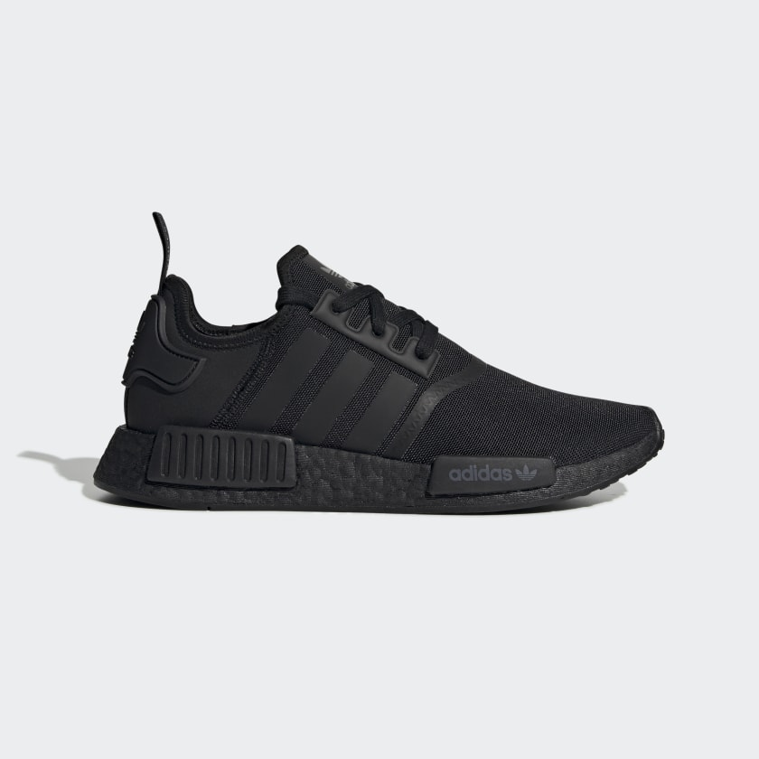 Black Addidas sneakers