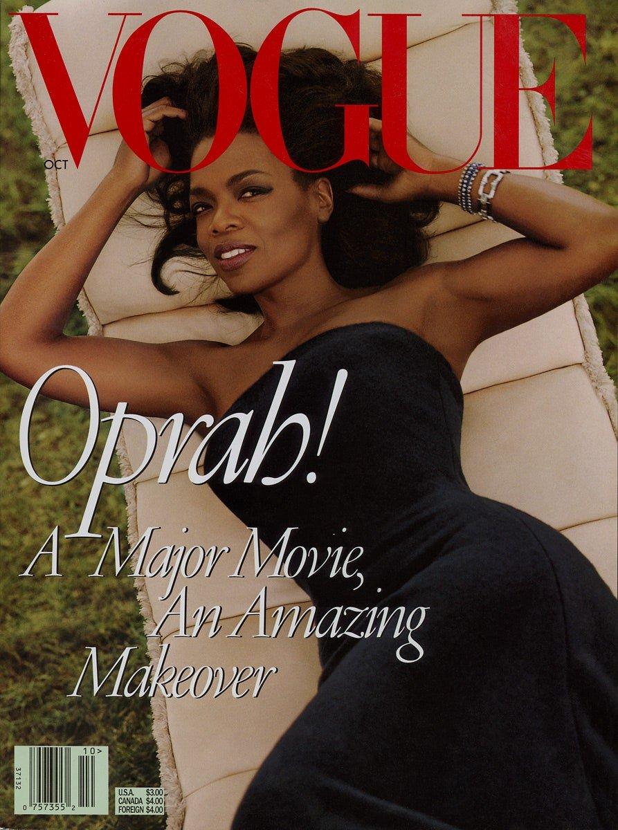 Oprah 1998 Vogue Cover