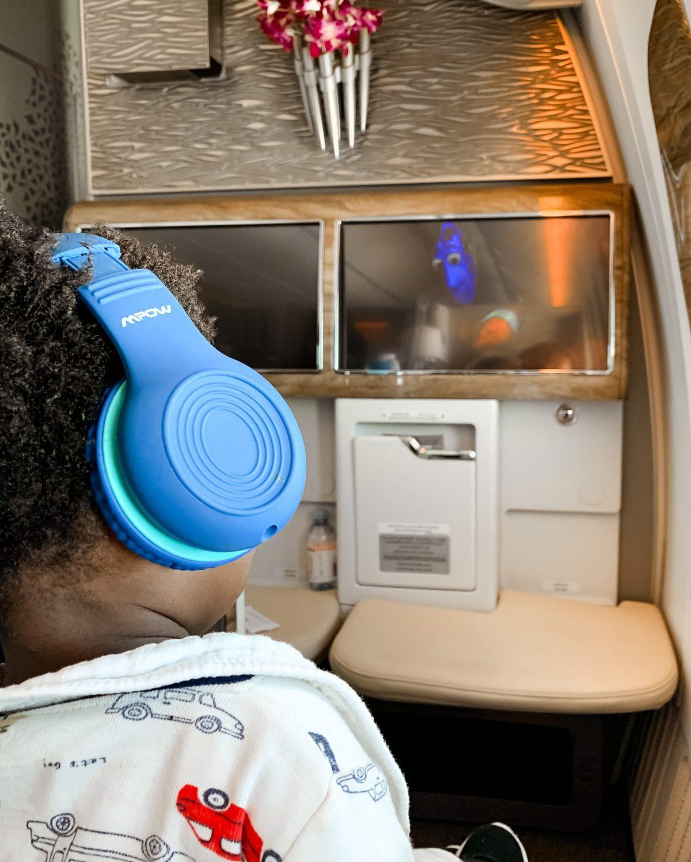 Flying with a Toddler - Emirates x Ijeoma Kola