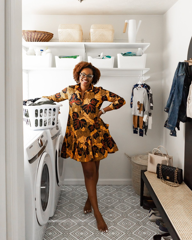 Laundry Room Reveal | Ijeoma Kola