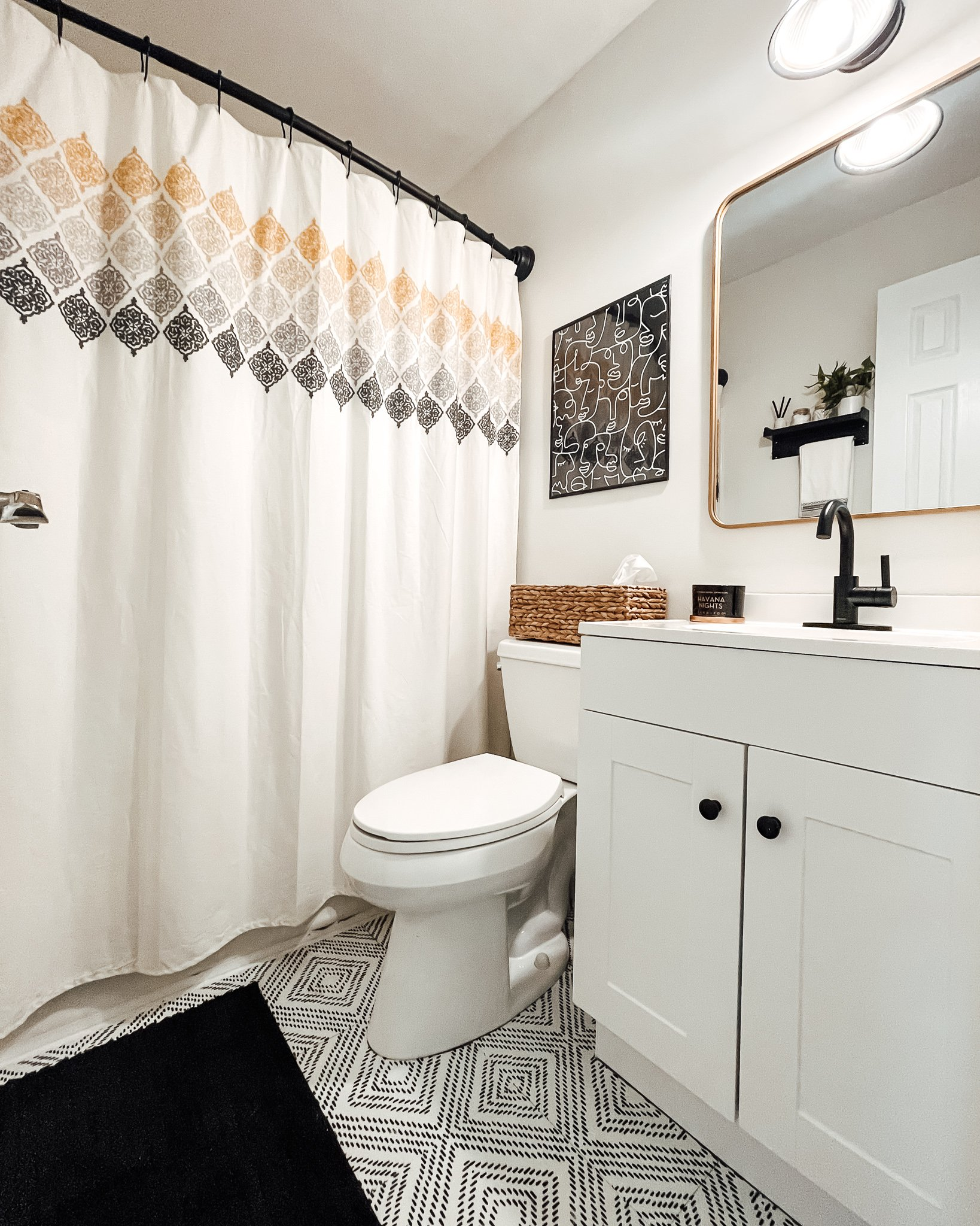 The Kola Home Indiana Bathroom Transformation 3 | Ijeoma Kola