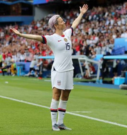 Megan Rapinoe and Joy in the Bodies We Have   IJFAB Blog