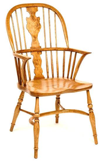 Pippy Oak Splat Windsor Arm Chair Windsor Chairs Fauld