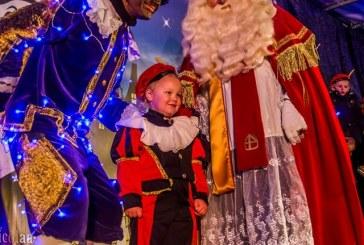 Aankomst Sinterklaas was overweldigend