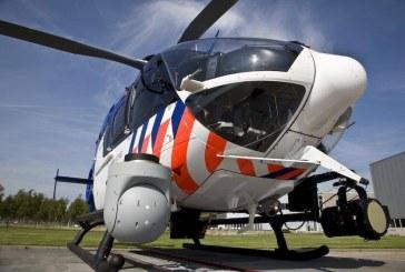 politiehelikopter vindt met infrarood camera verwarde man in duingebied