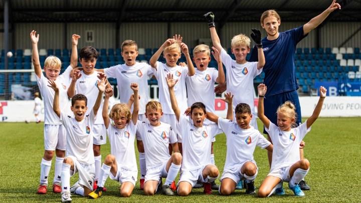 Voetbalplezier voor kinderen bij Telstar in de zomervakantie