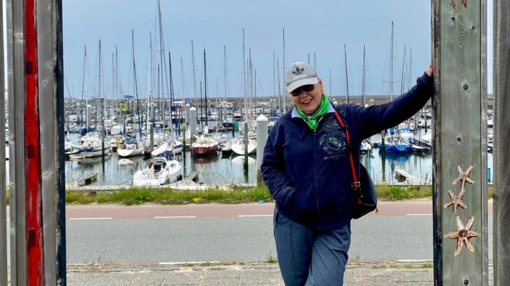Op het fietsje langs de parels van Velsen Ingeborgh onze verslaggeefster en journaliste trok er op uit.