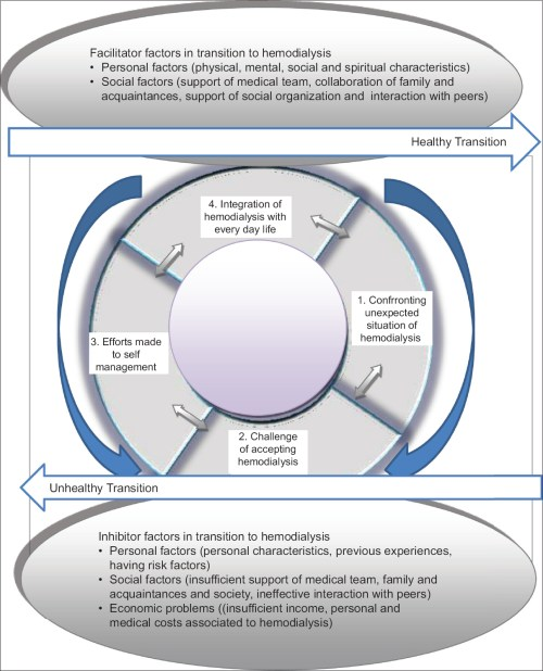 small resolution of original article the process of transition to hemodialysis a grounded theory research