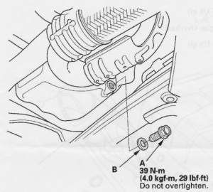 Ridgeline Oil Change manual