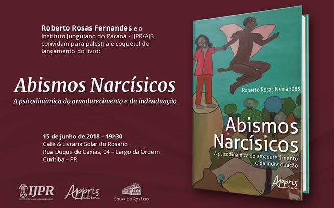 Lançamento de livro em 15.06.2018: Abismos Narcísicos