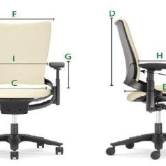 Ergonomic Chair Design Dimensions For Childrens Desk Anthropometry As An Factor In Open Plan Selected Measurements From Bifma Guidelines Used Source 4 Table 1 Specific Guideline All Inch