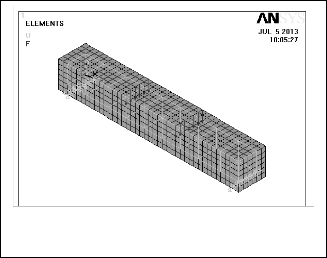 Application of Nonlinear Concrete Model for Finite Element