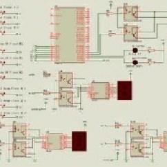 Seven Segment Pin Diagram Lifan 110cc Wiring Congestion Free Elevator Control Using Microcontroller