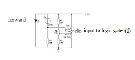Light dependent resistor and logic gate based wheelchair control