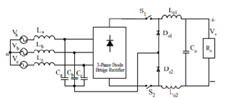 Three Phase Two Switch High Power Factor Buck Converter