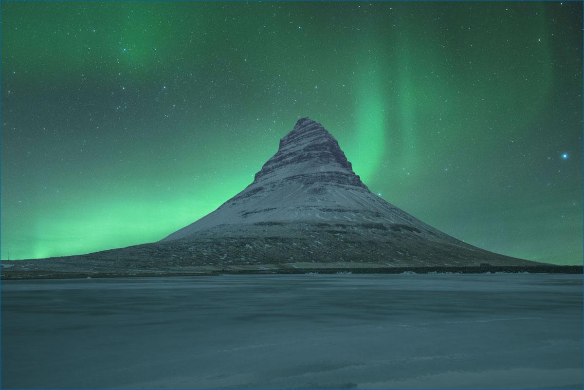 Noorderlicht Aurora Borealis  IJsland
