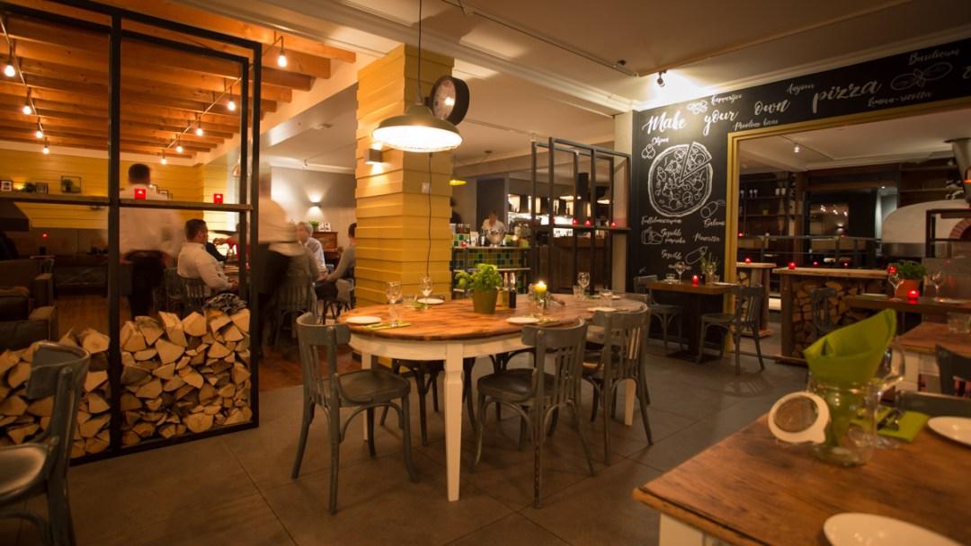 Website en fotografie restaurant La Pazienza