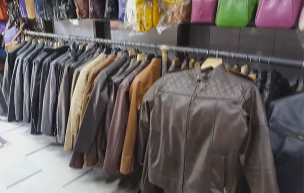 Leather garments manufacturing business
