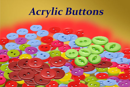 Acrylic Buttons making-business