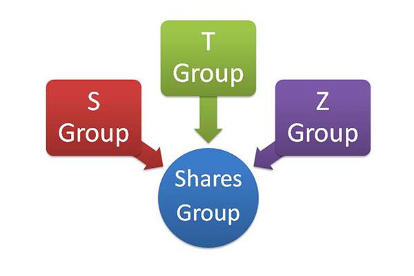 शेयरों की श्रेणी Shares category