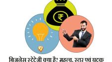 business strategy importance level and components hindi