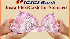 Insta FlexiCash Overdraft facility for salaried