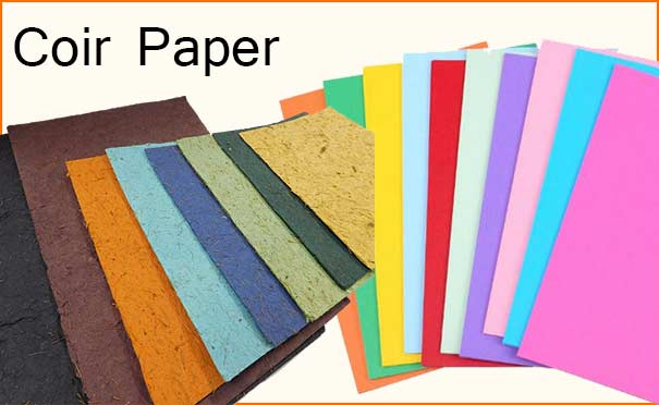 Coir Paper Manufacturing Business
