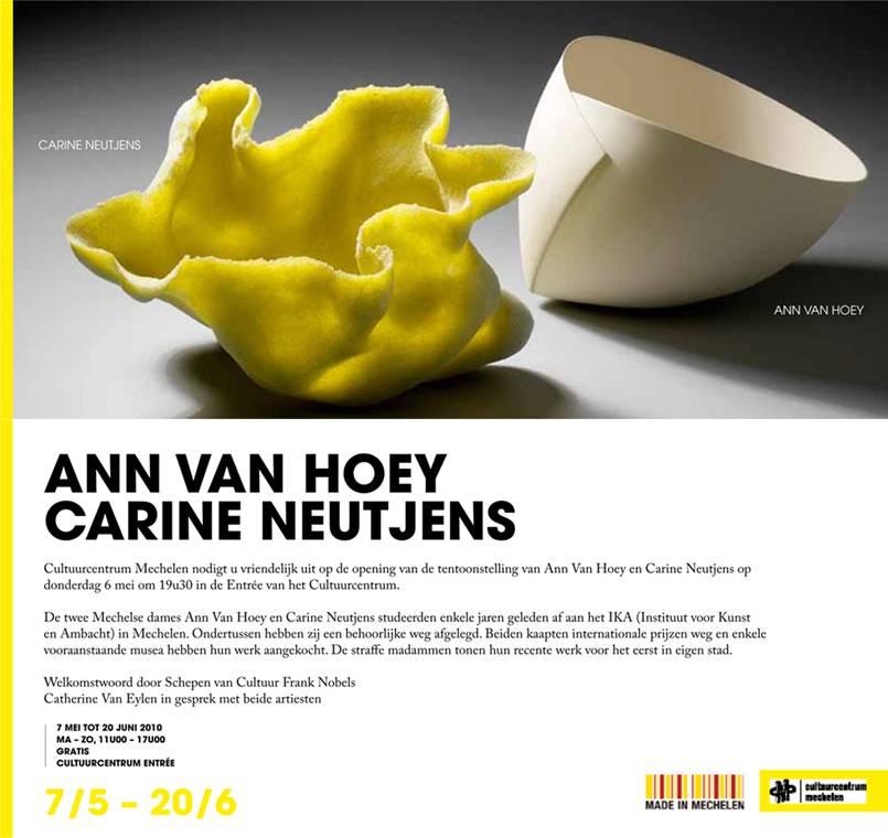 Ann Van Hoey  Carine Neutjens