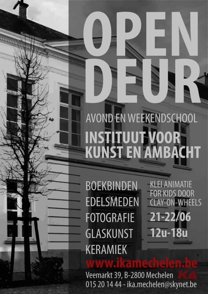 opendeur 21 en 22 juni 2014