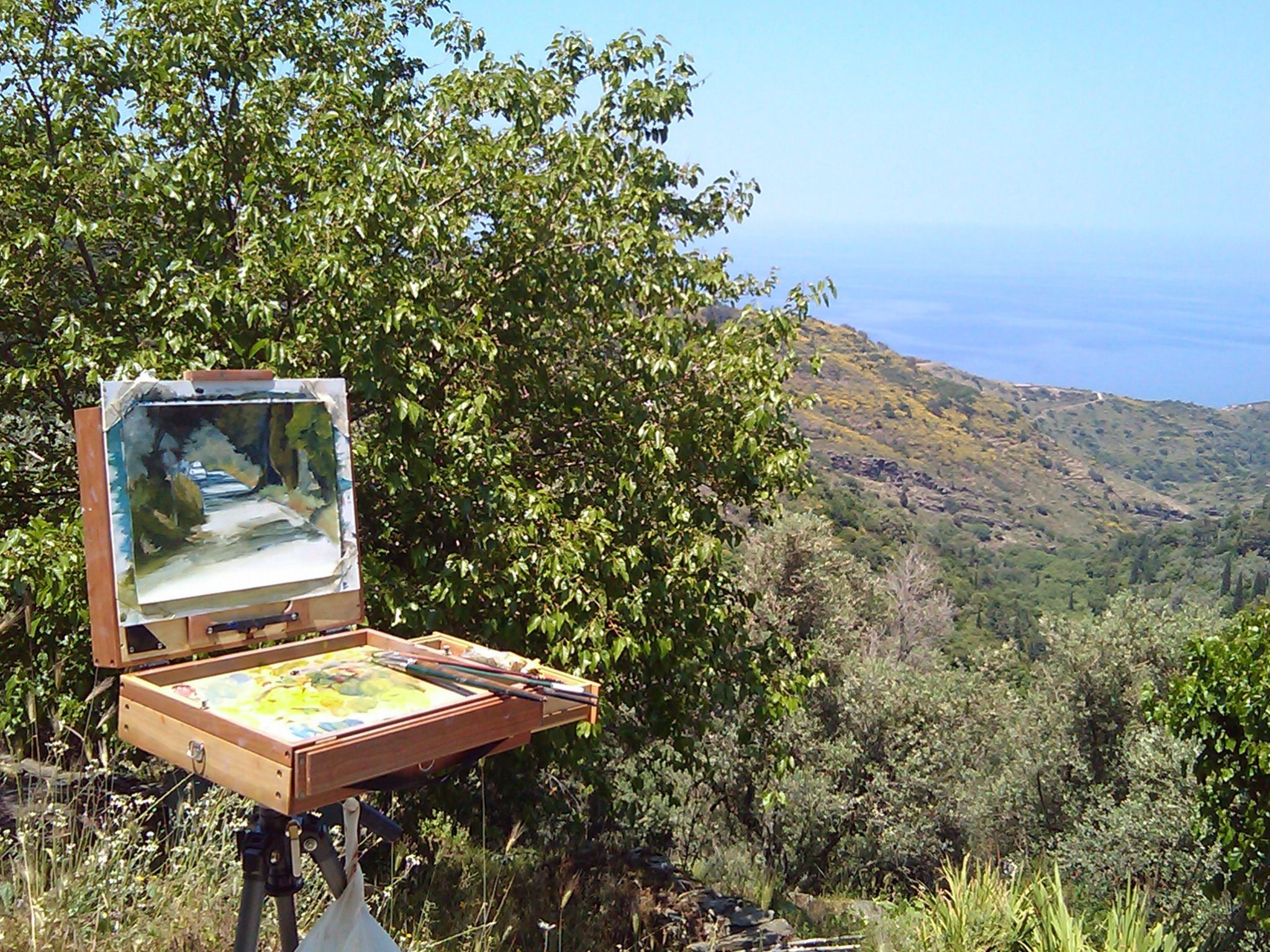 Painting course, Ikaria