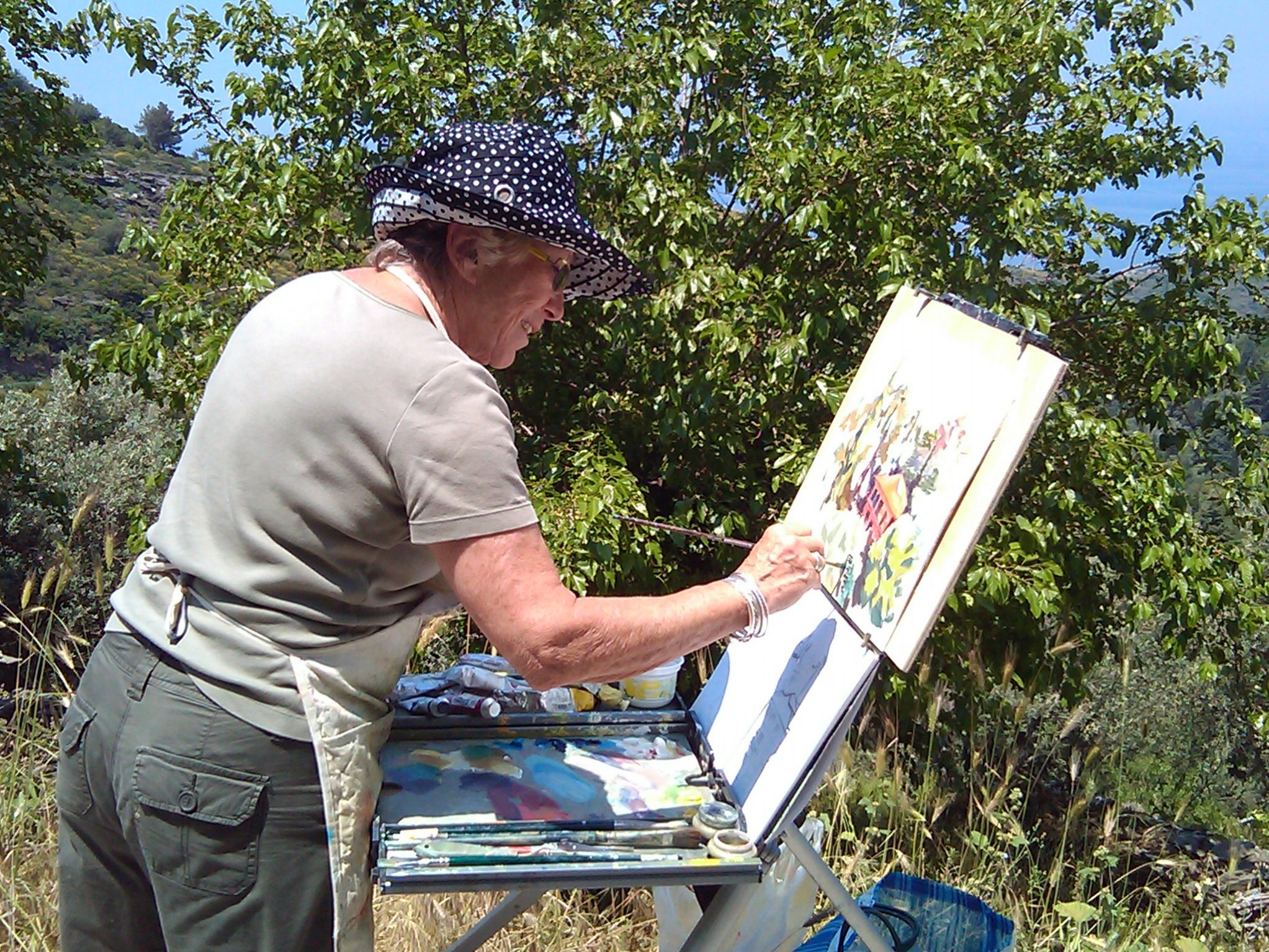 painting courses, Ikaria