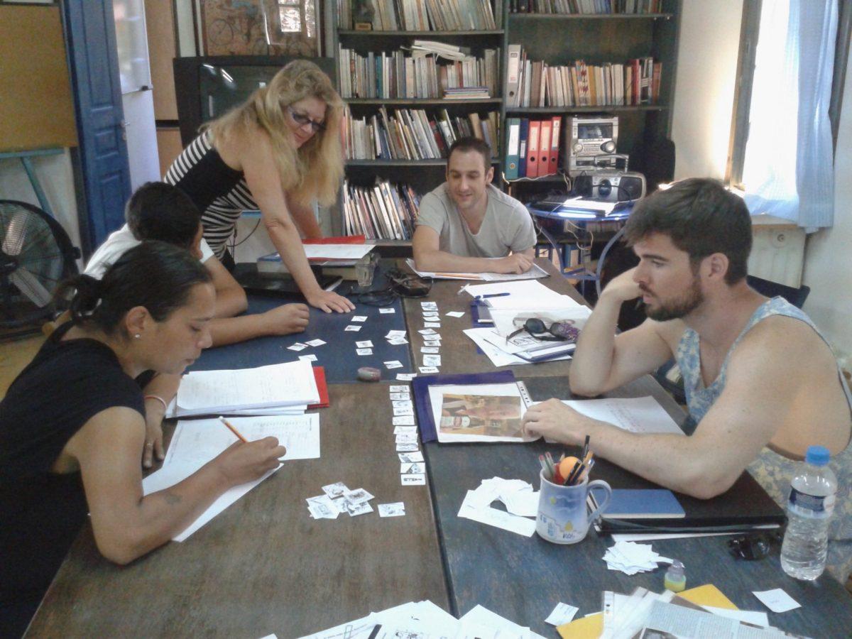Greek lanugage lessons